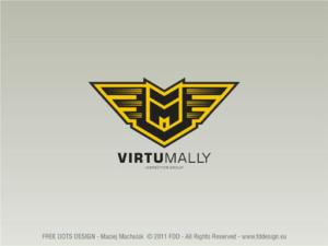 Virtual Mally - znak graficzny.