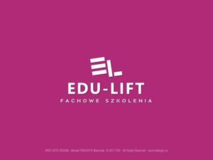 EDU-LIFT Fachowe Szkolenia - logotyp dla firmy szkoleniowej