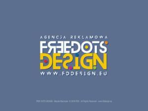 Redesign logotypu FREE DOTS DESIGN.