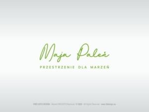 MAJA PALEŃ  - Projektowanie i Aranżacja Wnętrz - logotyp