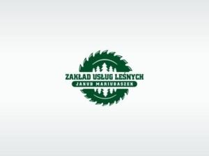 Logo dla Zakładu Usług Leśnych - Mariusz Jakubaszek