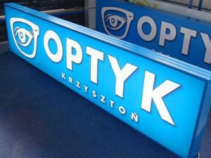 OPTYK Krzysztoń - kasetony Profil Led.