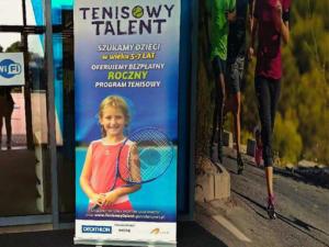 Projekty graficzne akcji -  TENISOWY TALENT - dla Ganador Sport i Decathlon