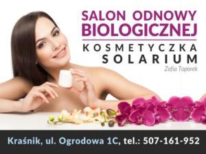 Salon Odnowy Biologicznej Zofii Toporek. Projekt identyfikacji wizualnej firmy. Wykonanie pakiet materiałów informacyjnych, wizytówek, grafiki do portali społecznościowych i reklam na targi branżowe.