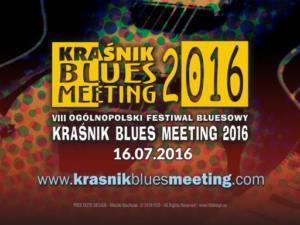 Festiwal Kraśnik Blues Meeting 2016 - materiały promocyjne i wizualizacja festiwalu.